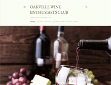 Tablet Preview of oakvillewine.ca